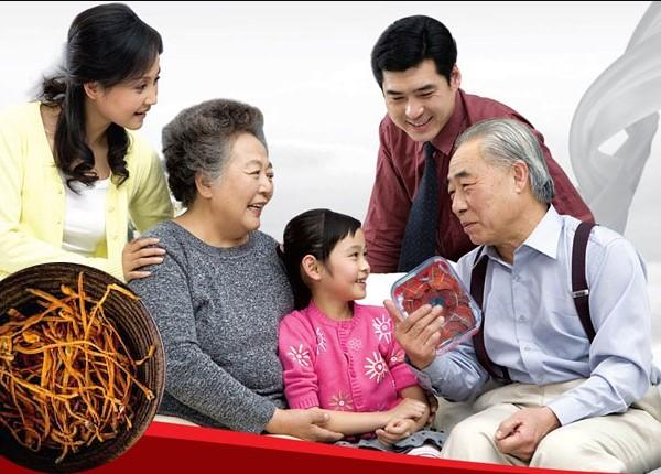 Đông Trùng món quà ý nghĩ cho người già