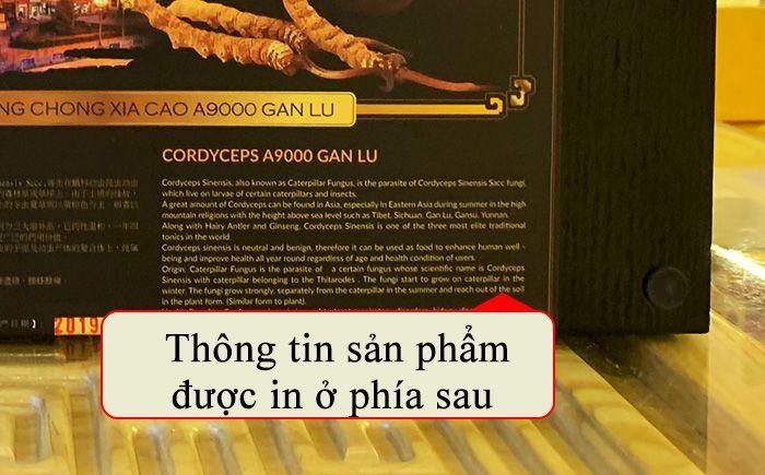 Đông trùng hạ thảo Tây Tạng 10g/hộp D002 12