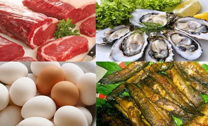 Các loại thực phẩm tốt cho người yếu sinh lý
