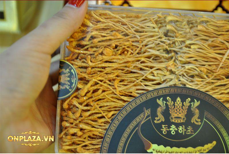 Nấm đông trùng hạ thảo Hàn Quốc sấy khô hộp 180g D227 8